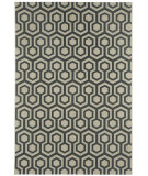 RugStudio presents Capel Elsinore-Honeycombs 116273 Cinders Machine Woven, Good Quality Area Rug