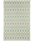 RugStudio presents Capel Elsinore-Pueblo 116285 Resort Blue Machine Woven, Good Quality Area Rug