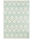 RugStudio presents Capel Elsinore-Santorini 116290 Blue Machine Woven, Good Quality Area Rug