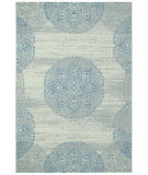 RugStudio presents Capel Elsinore-Mandala 116277 Blueberry Machine Woven, Good Quality Area Rug