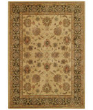 RugStudio presents Capel Laud-Palmette 55166 Machine Woven, Good Quality Area Rug