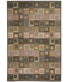 RugStudio presents Capel Portia-Cubes 116453 Multitone Machine Woven, Good Quality Area Rug