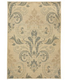RugStudio presents Capel Portia-Damask 116454 Blonde Machine Woven, Good Quality Area Rug