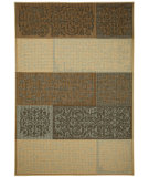 RugStudio presents Capel Portia-Patchwork 116459 Multitone Machine Woven, Good Quality Area Rug