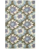 RugStudio presents Capel Intrique-Bloom 62691 Light Purple Hand-Hooked Area Rug