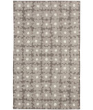 RugStudio presents Capel Leaflet 116411 Charcoal Hand-Hooked Area Rug