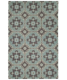 RugStudio presents Capel Fortune 116470 Green Hand-Hooked Area Rug