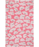 RugStudio presents Capel Puffy 116238 Pink Hand-Hooked Area Rug
