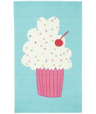 RugStudio presents Capel Cake Pops 116250 Seaway Hand-Hooked Area Rug