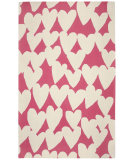 RugStudio presents Capel Valentine 116314 Azalea Buff Hand-Hooked Area Rug