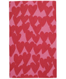 RugStudio presents Capel Valentine 116315 Currant Hand-Hooked Area Rug