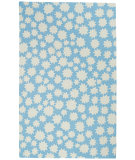 RugStudio presents Capel Heavenly 116438 Blue Seas Hand-Hooked Area Rug