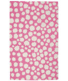 RugStudio presents Capel Heavenly 116441 Pink Hand-Hooked Area Rug