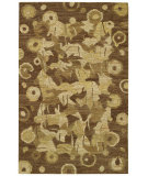 RugStudio presents Capel Karma Naturals-Burl 55144 Hand-Knotted, Good Quality Area Rug