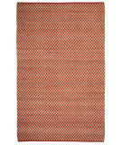 RugStudio presents Capel Checkered 116347 Clay Woven Area Rug