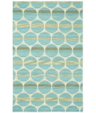 RugStudio presents Capel Bucine 116474 Blue Lt. Beige Hand-Tufted, Good Quality Area Rug