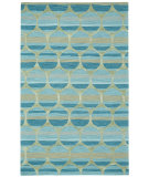 RugStudio presents Capel Bucine 116475 Blue Hand-Tufted, Good Quality Area Rug