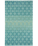 RugStudio presents Capel Rossio 116333 Azure Hand-Tufted, Good Quality Area Rug