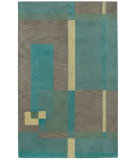 RugStudio presents Capel Left Bank 121963 Ocean Hand-Tufted, Good Quality Area Rug