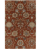 RugStudio presents Capel Garden Terrace 116484 Cinnamon Hand-Tufted, Good Quality Area Rug