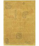 RugStudio presents Chandra Aadi AAD1306 Gold Hand-Knotted, Good Quality Area Rug