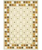 RugStudio presents Chandra Aadi AAD1308 Beige Hand-Knotted, Good Quality Area Rug