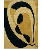 RugStudio presents Chandra Aadi AAD1310 Gold Hand-Knotted, Good Quality Area Rug