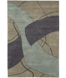RugStudio presents Chandra Aadi AAD1320 Blue Hand-Knotted, Good Quality Area Rug