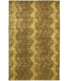 RugStudio presents Chandra Aadi AAD1321 Tan Hand-Knotted, Good Quality Area Rug