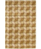 RugStudio presents Chandra Aadi AAD1325 Tan Hand-Knotted, Good Quality Area Rug