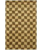 RugStudio presents Chandra Aadi AAD1326 Brown Hand-Knotted, Good Quality Area Rug
