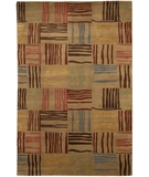 RugStudio presents Chandra Aadi AAD1328 Brown Hand-Knotted, Good Quality Area Rug