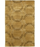 RugStudio presents Chandra Aadi AAD1329 Tan Hand-Knotted, Best Quality Area Rug