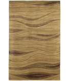 RugStudio presents Chandra Aadi AAD1330 Brown Hand-Knotted, Good Quality Area Rug