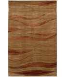 RugStudio presents Chandra Aadi AAD1331 Tan Hand-Knotted, Good Quality Area Rug