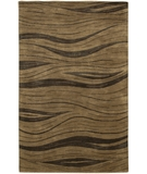 RugStudio presents Chandra Aadi AAD1332 Brown Hand-Knotted, Good Quality Area Rug