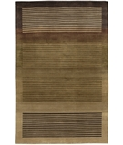 RugStudio presents Chandra Aadi AAD1338 Brown Hand-Knotted, Good Quality Area Rug