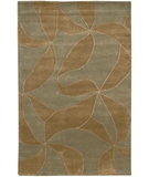 RugStudio presents Chandra Aadi AAD1339 Taupe Hand-Knotted, Good Quality Area Rug