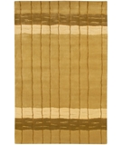 RugStudio presents Chandra Aadi AAD1347 Gold Hand-Knotted, Good Quality Area Rug