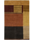 RugStudio presents Chandra Aadi AAD1352 Multi Hand-Knotted, Good Quality Area Rug