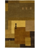 RugStudio presents Chandra Aadi AAD1354 Multi Hand-Knotted, Good Quality Area Rug