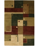 RugStudio presents Chandra Aadi AAD1358 Multi Hand-Knotted, Good Quality Area Rug