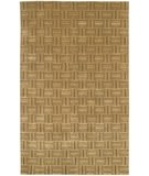 RugStudio presents Chandra Aadi AAD1387 Light Brown Hand-Knotted, Good Quality Area Rug