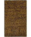 RugStudio presents Chandra Aadi AAD1401 Dark Gold Hand-Knotted, Better Quality Area Rug