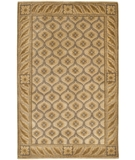 RugStudio presents Chandra Aadi AAD1405 Tan Hand-Knotted, Good Quality Area Rug