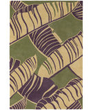 RugStudio presents Chandra Alfred Shaheen ALF2100 Green Hand-Tufted, Good Quality Area Rug