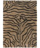 RugStudio presents Chandra Amazon AMA5601 Tan Woven Area Rug