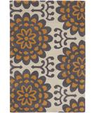 RugStudio presents Chandra Amy Butler AMY13201 Cream Hand-Tufted, Good Quality Area Rug