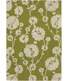 RugStudio presents Chandra Amy Butler AMY13205 Green Hand-Tufted, Good Quality Area Rug