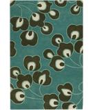 RugStudio presents Chandra Amy Butler AMY13207 Blue Hand-Tufted, Good Quality Area Rug